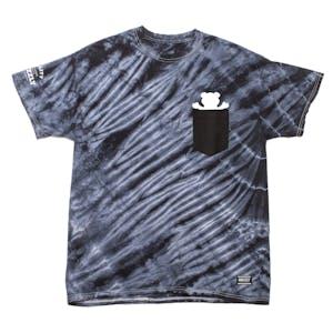 c1612109 Grizzly Tie-Dye Pocket T-Shirt — Black