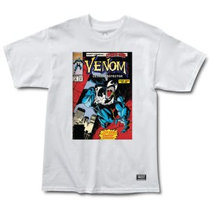 Grizzly x Marvel Venom Cover T-Shirt - White