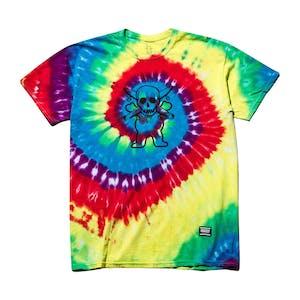 Grizzly x Fourstar Collab T-shirt — Tie-dye