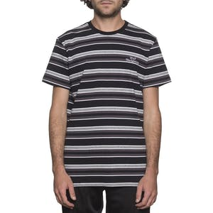 HUF Malibu Stripe T-Shirt - Black