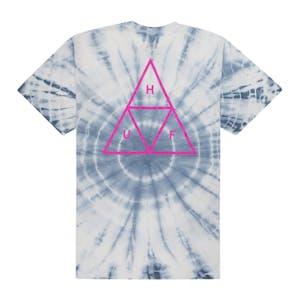 HUF Washed Triple Triangle T-Shirt - White
