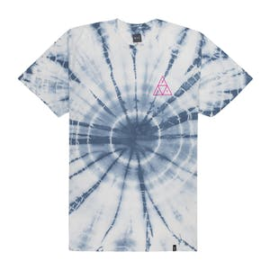 HUF Washed Triple Triangle T-Shirt - White