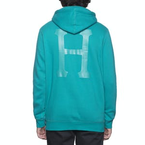 HUF Classic Pullover Hood - Teal