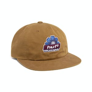HUF 100% Pure 6-Panel Hat - Toffee