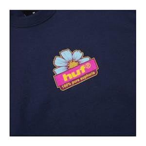 HUF 100% Pure T-Shirt - Navy
