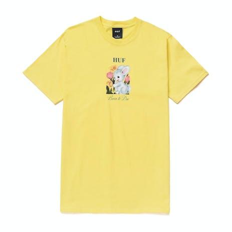 HUF Born to Die T-Shirt - Yellow