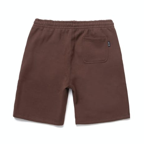 HUF Shake Fleece Short - Deep Mahogany