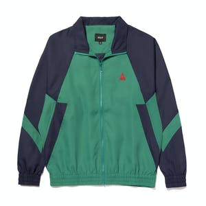 HUF Switzer Track Jacket - Navy/Green