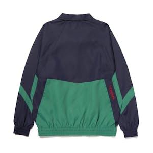 HUF Switzer Track Jacket - Navy/Green