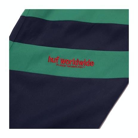 HUF Switzer Track Pant - Navy/Green