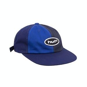 HUF 99 Logo 6-Panel Hat - Navy