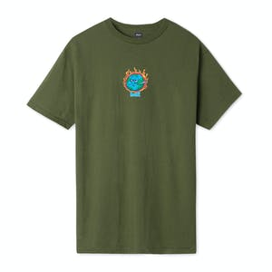 HUF Sick Sad World T-Shirt - Olive