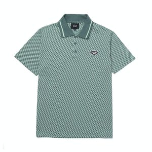 HUF Micro H Polo Shirt - Sage