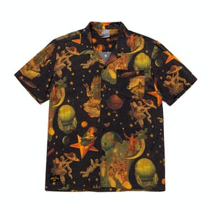 HUF x Smashing Pumpkins Tonight Tonight Woven Shirt - Dark Green
