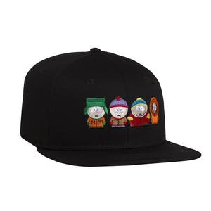 HUF x South Park Strapback Hat - Black