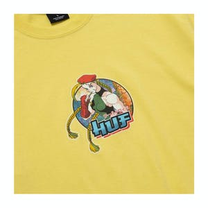HUF x Street Fighter Cammy T-Shirt - Yellow