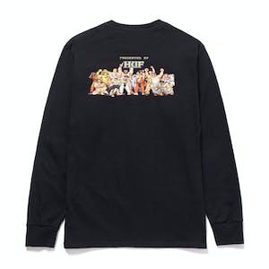 HUF x Street Fighter Ending Long Sleeve T-Shirt - Black