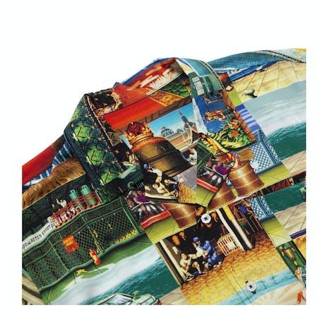 HUF x Street Fighter Stages Resort Shirt
