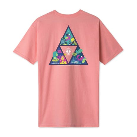 HUF Comics Triangle T-Shirt - Desert Flower