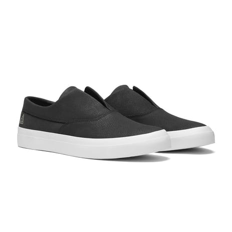 HUF Dylan Slip-On Skate Shoe - Black