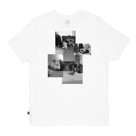HUF x EMB Collage T-Shirt - White