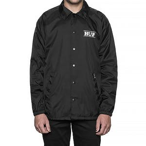 HUF Pigpen Coaches Jacket - Black