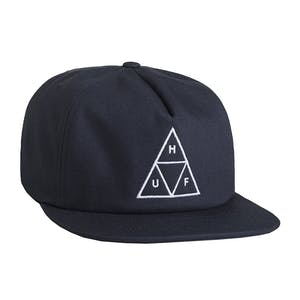 HUF Triple Triangle Snapback Hat - Navy