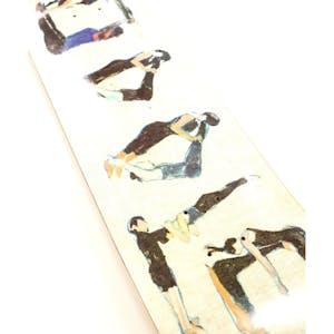 Hoddle Gian Yoga Logo Skateboard Deck