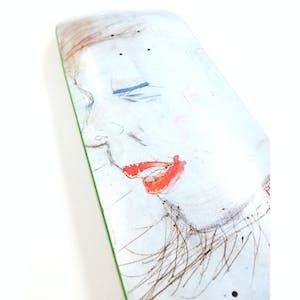 Hoddle Keegan Portrait Skateboard Deck - Jack Kirk