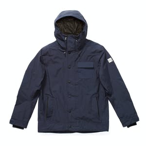 Holden Hooded Deck Snowboard Jacket 2019 - Navy