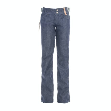 Holden Skinny Denim Women's Snowboard Pant 2018 - Raw Denim