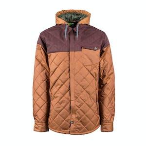 INI Dib Shirt Snowboard Jacket - Rust