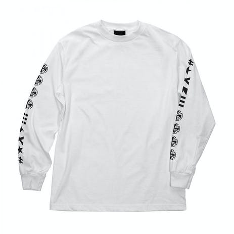 Independent Ante Long-Sleeve T-Shirt - White