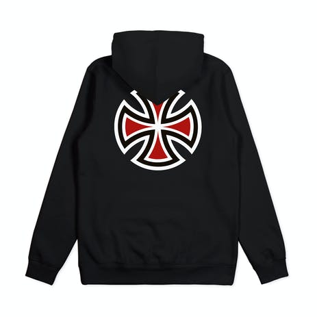 Independent Bar Cross Pop Hoodie - Black