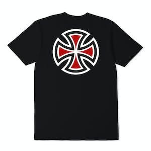Independent Bar Cross T-Shirt - Black