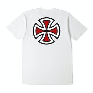 Independent Bar Cross T-Shirt - White