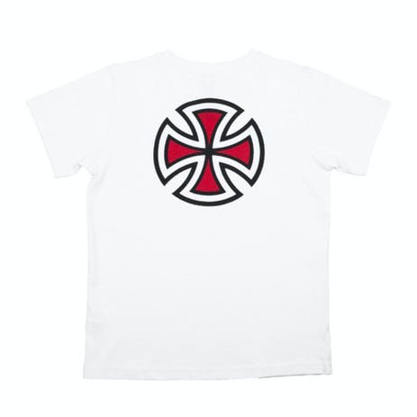 Independent Bar/Cross Youth T-Shirt - White