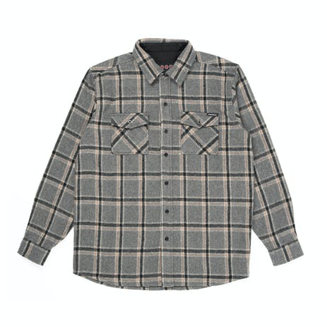 Independent Chainsaw Long-Sleeve Shirt - Charcoal