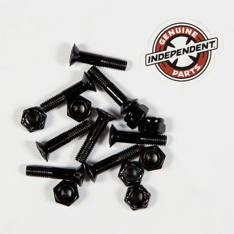 """Independent 7/8"""" Philips Skateboard Hardware - Black"""