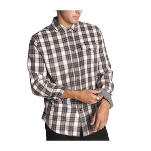 Kr3w Sheldon Button-Up Long Sleeve Shirt — Eggshell