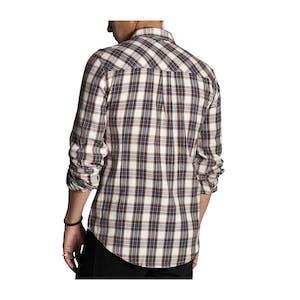 Kr3w Sheldon Button-Up Long Sleeve Shirt — Eggshell
