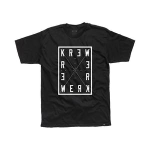 Kr3w Four Corners T-Shirt — Black
