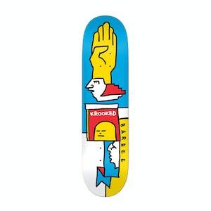"Krooked Barbee Mondriaan 8.5"" Skateboard Deck"