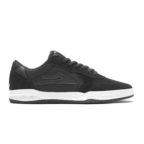Lakai Atlantic Skate Shoe - Black/Black Suede
