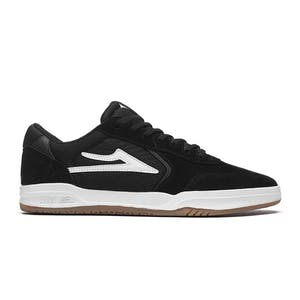 Lakai Atlantic Skate Shoe - Black Suede