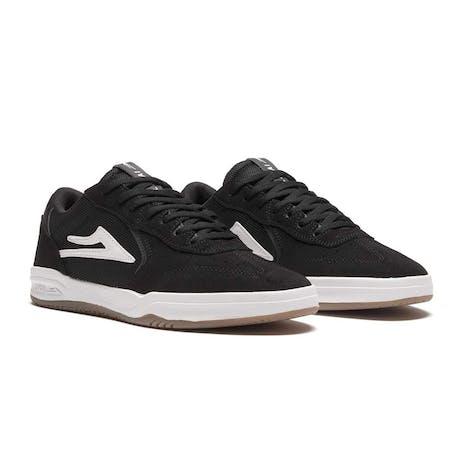 Lakai Atlantic Skate Shoe - Black Suede