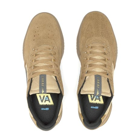 Lakai Atlantic Skate Shoe - Tan Suede