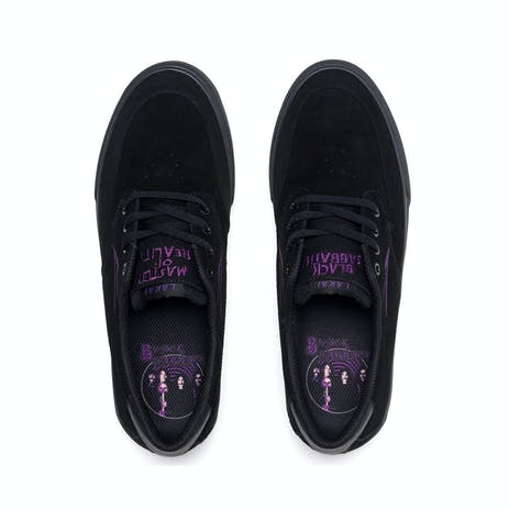 Lakai x Black Sabbath Riley 3 Skate Shoe - Black Suede