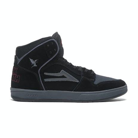 Lakai x Black Sabbath Telford Skate Shoe - Black/Grey