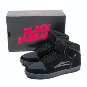 Lakai x Black Sabbath Telford Skate Shoe - Black/Grey